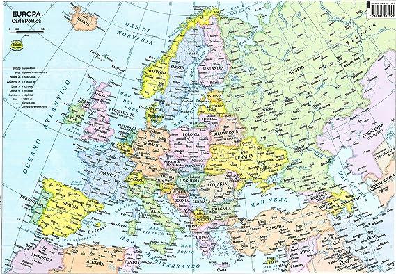 Cartina Europa Politica Aggiornata.Europa 1 800 000 Amazon It Cancelleria E Prodotti Per Ufficio