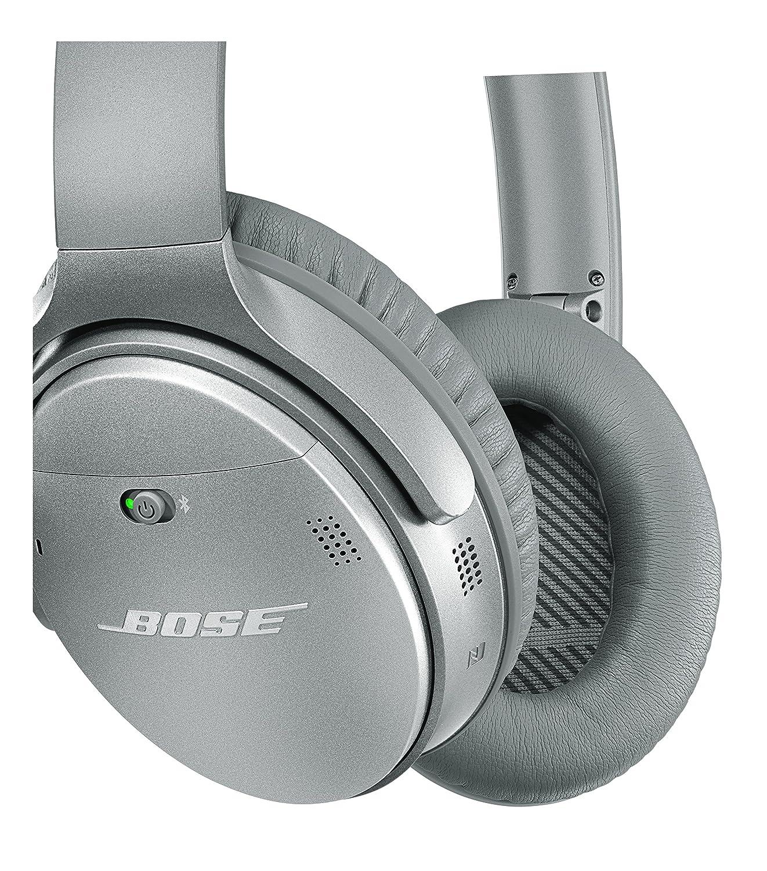 Bose QuietComfort 35 - Auriculares inalámbricos (reducción de Ruido, Bluetooth), Color Plata: Amazon.es: Electrónica