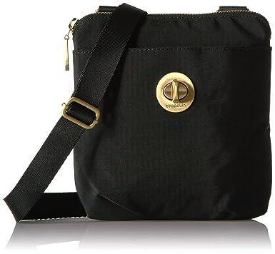 3c1d132a0 Baggallini RFID Mini Hanover, Black: Handbags: Amazon.com