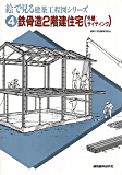 鉄骨造2階建住宅(外壁:サイディング) (絵で見る建築工程図シリーズ)