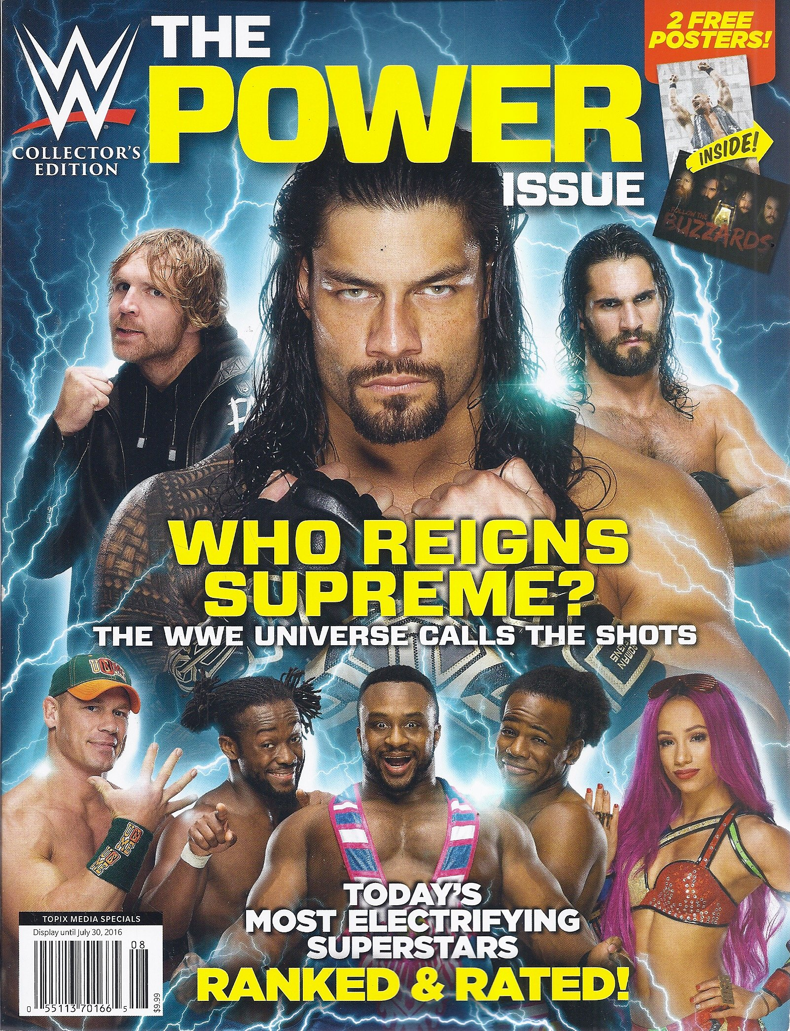 Download WWE Collector's Edition Magazine (The Power Issue) ebook