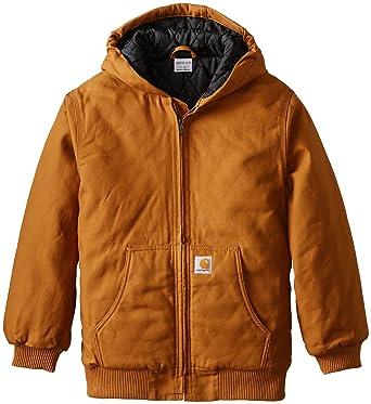 65aa45cbe Amazon.com  Carhartt Boys Active Taffeta Quilt Lined Jacket  Clothing
