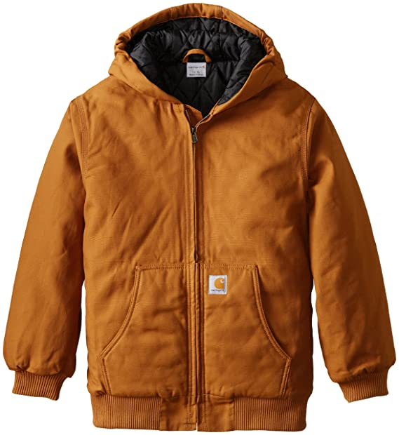 Amazon.com: Carhartt Boys Active Taffeta Quilt Lined Jacket ...