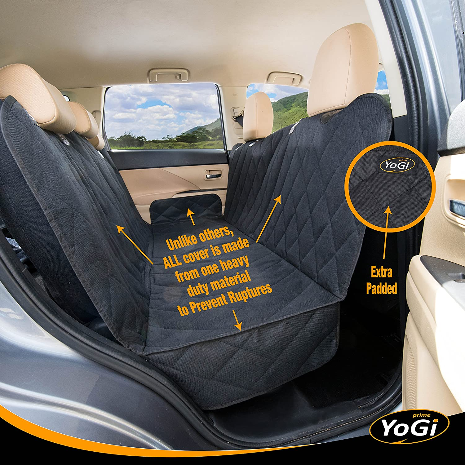 Dog Seat Covers For Cars By YoGi Prime