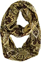 Peach Couture Vintage Womens Bohemian Design Infinity Loop Scarves
