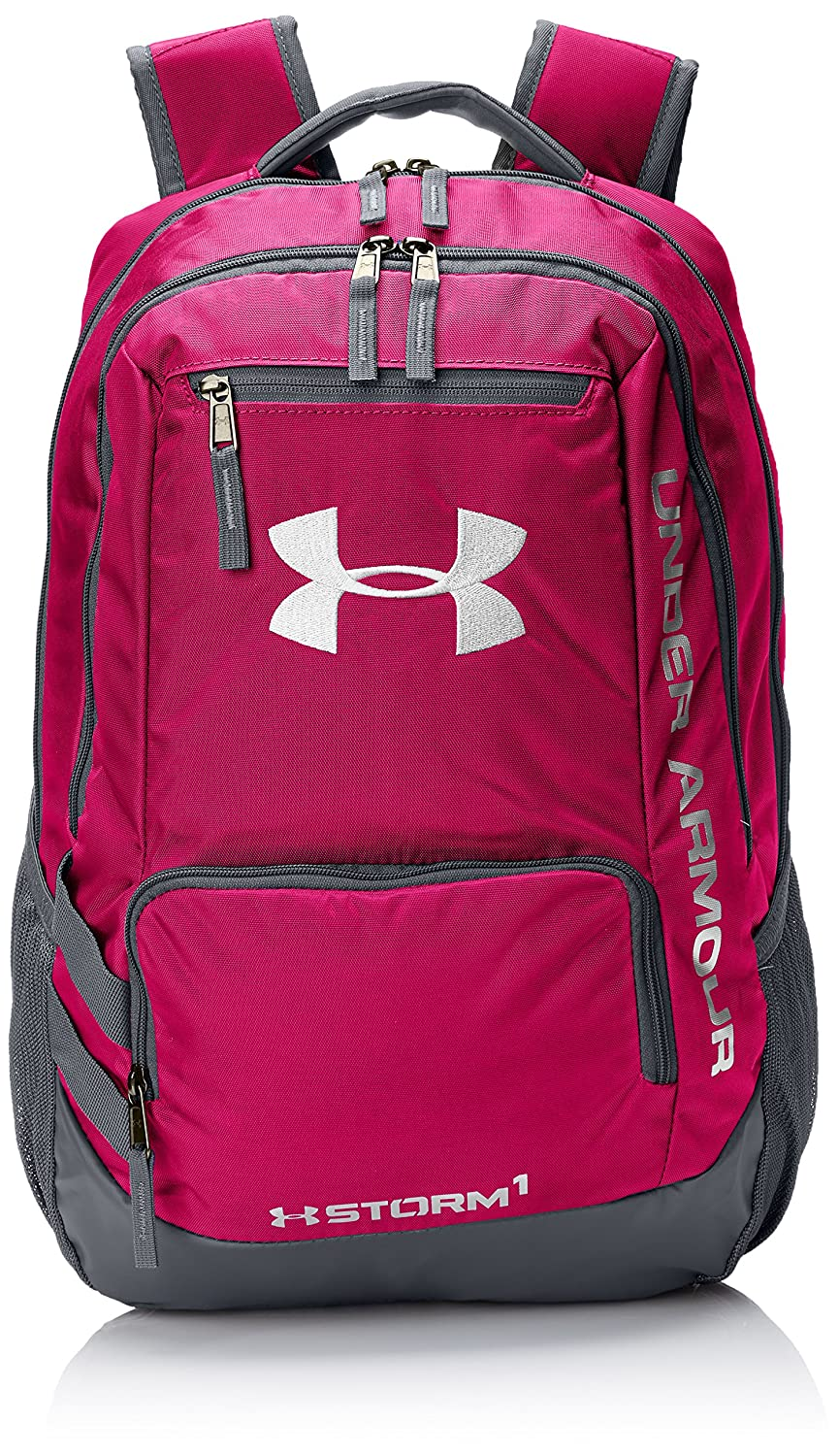 Under Armour Storm Hustle II Backpack, Red (600), One Size Under Armour Bags 1263964