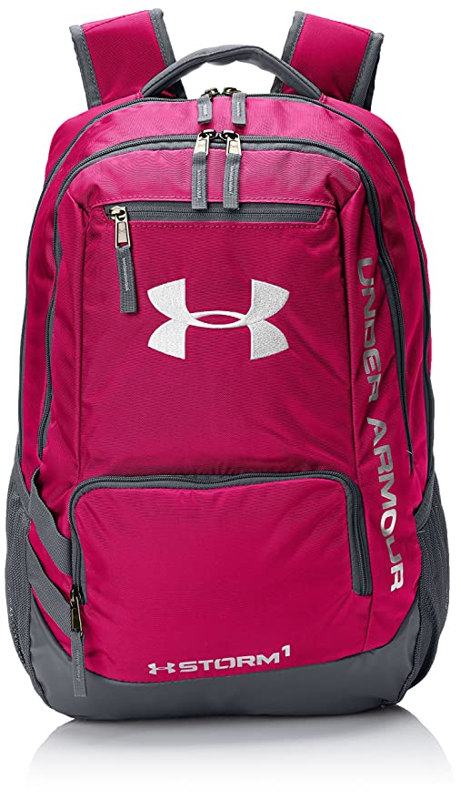 Mochila Under Armour Storm Hustle II - Tropic Pink 654: Amazon.es: Deportes y aire libre
