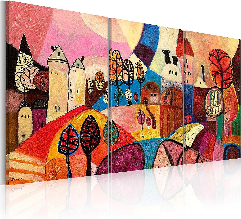murando - Cuadro en Lienzo 120x60 - Impresión de 3 Piezas Material Tejido no Tejido Impresión Artística Imagen Gráfica Decoracion de Pared Abstracto 5711