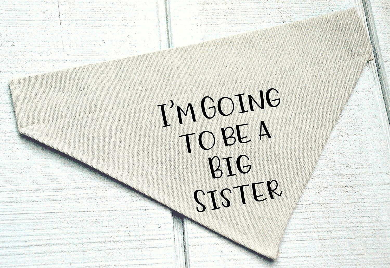 I'm Going to Be a Big Sister Dog Bandana