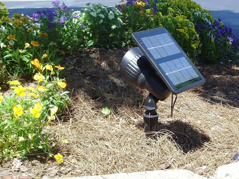 Amazon.com : Gama Sonic Progressive Solar Garden and Landscape LED ...