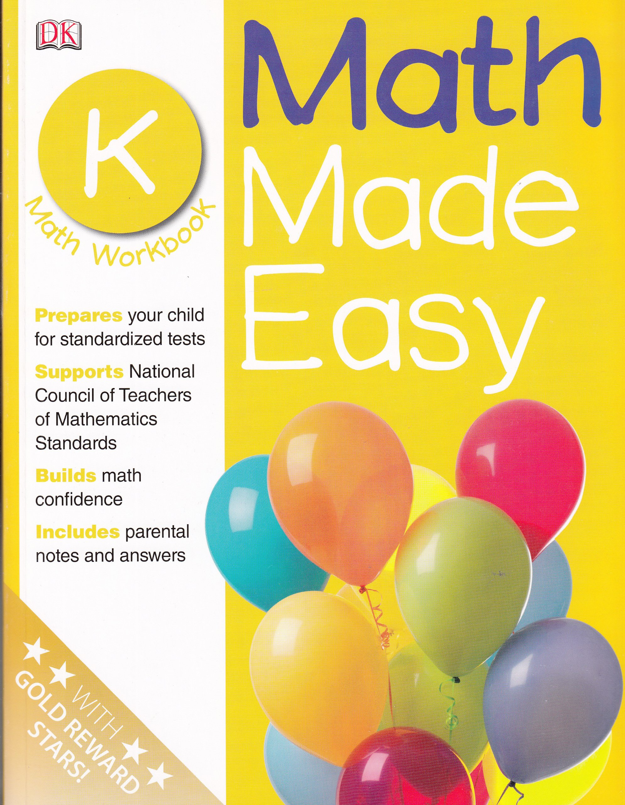 Math Made Easy: Kindergarten Workbook (Math Made Easy): DK ...