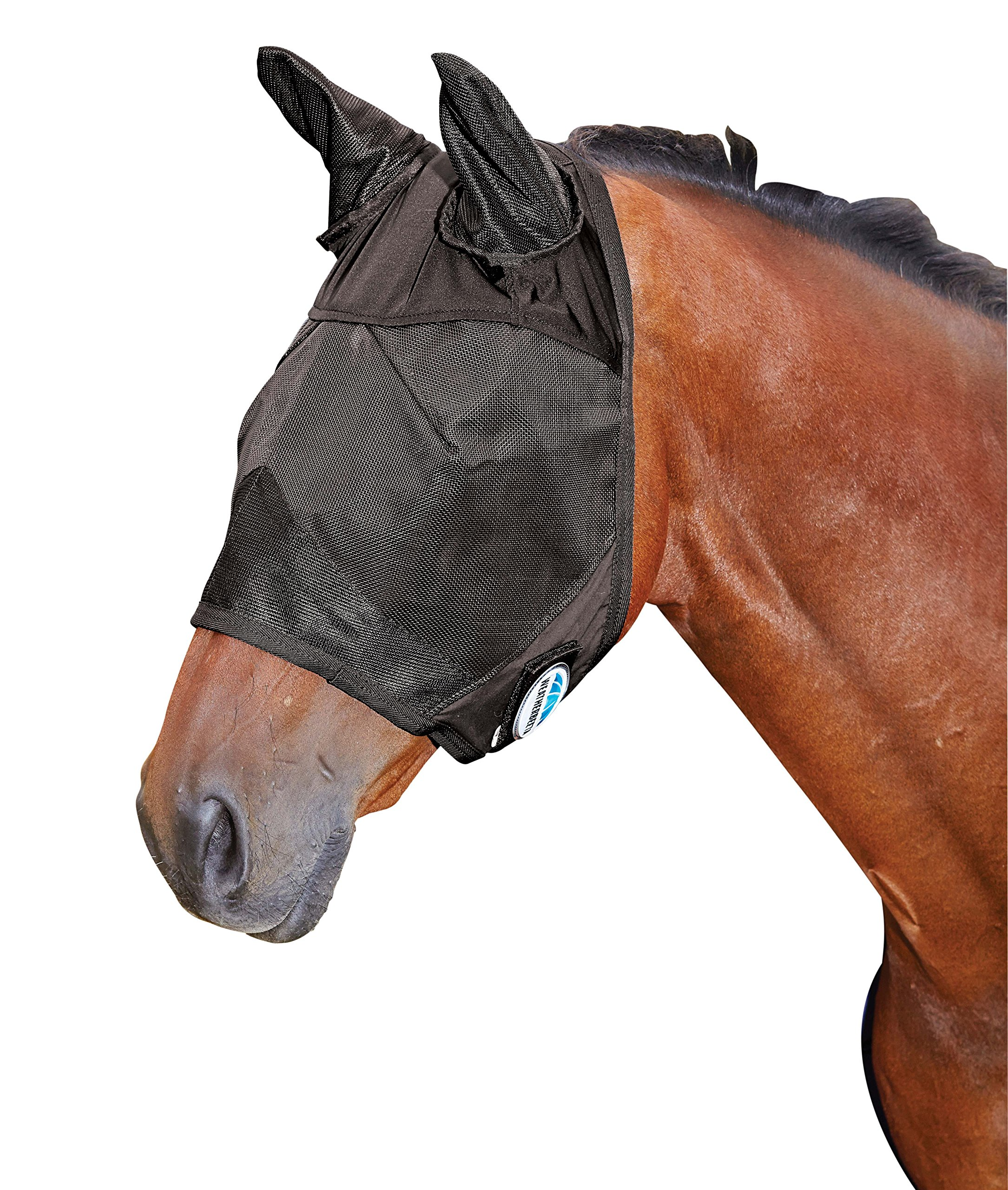 Weatherbeeta Fly Mask Black Cob