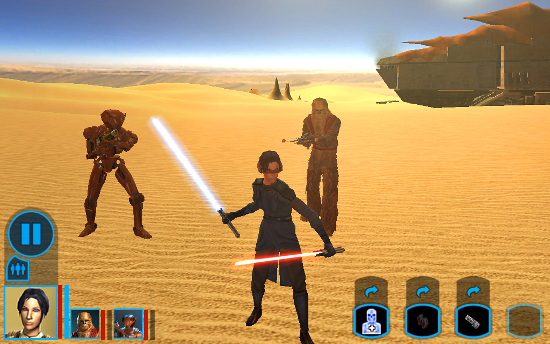 Star Wars™ Galaxy of Heroes - Free Mobile Game - EA ...