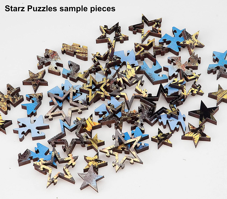 Artist Scott Harding What t Wear Starz Wooden Jigsaw Puzzles
