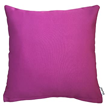 Do4U Home Decorative Waterproof Throw Pillow Cover Cushion Case For Travel  Use, Outdoor,Rattan