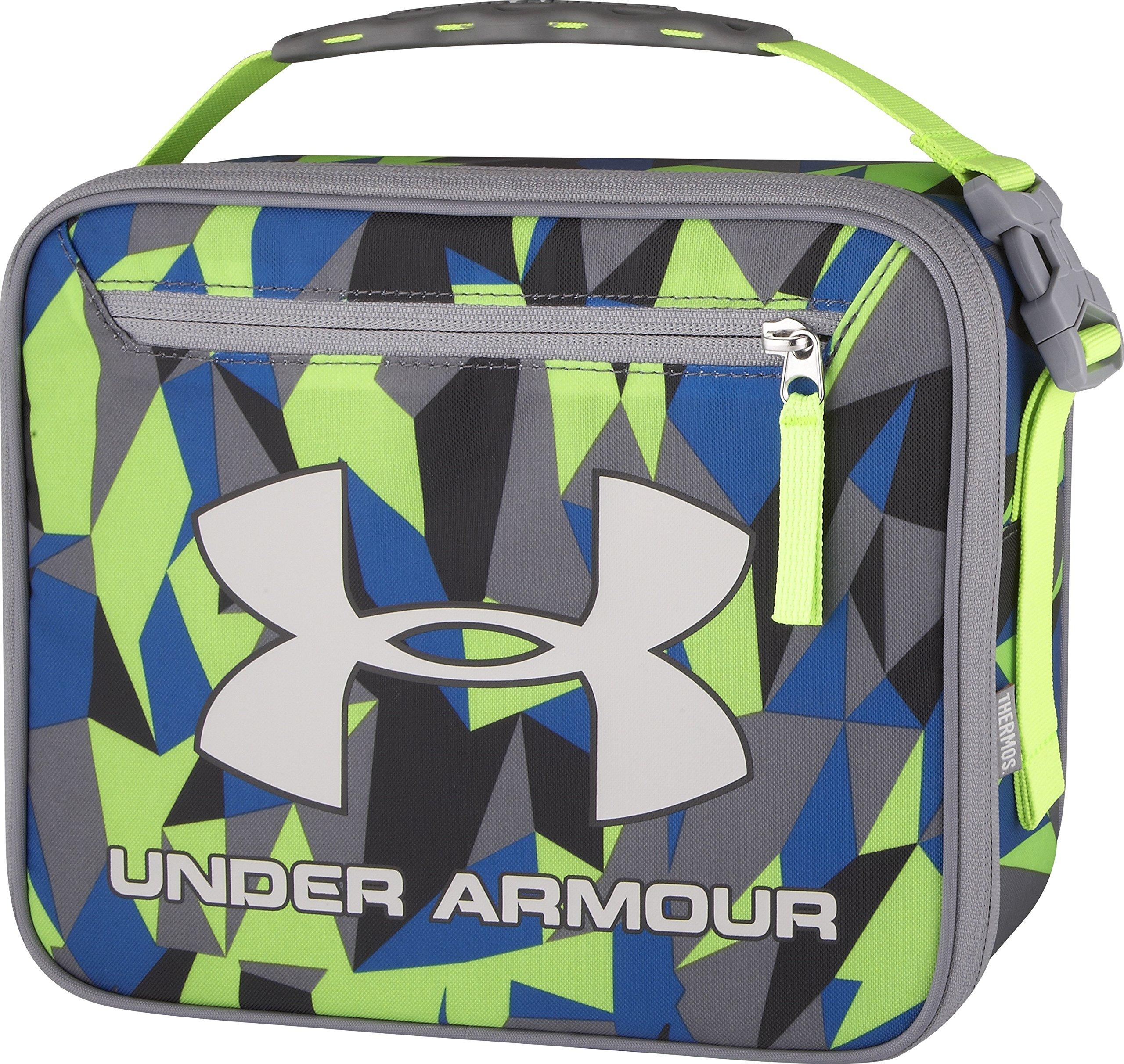711d81e9d5 Details about Geo Cache Gray Sport Under Armour Lunch Box Bag IsoTec  Premium Foam Insulation