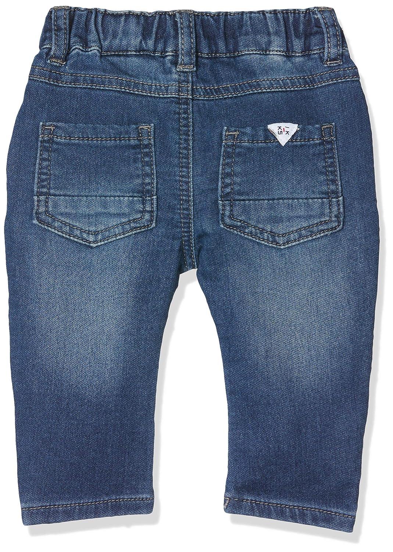 Jeans B/éb/é gar/çon IKKS Denim Knitlook Bleu