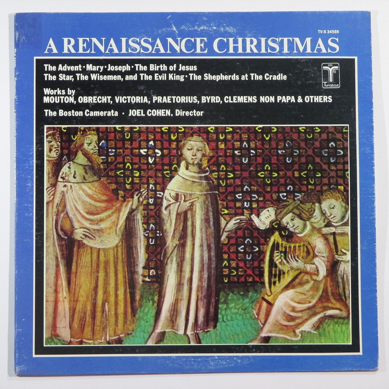 THe Boston Camerata - Joel Cohen - A Renaissance Christmas - Amazon ...