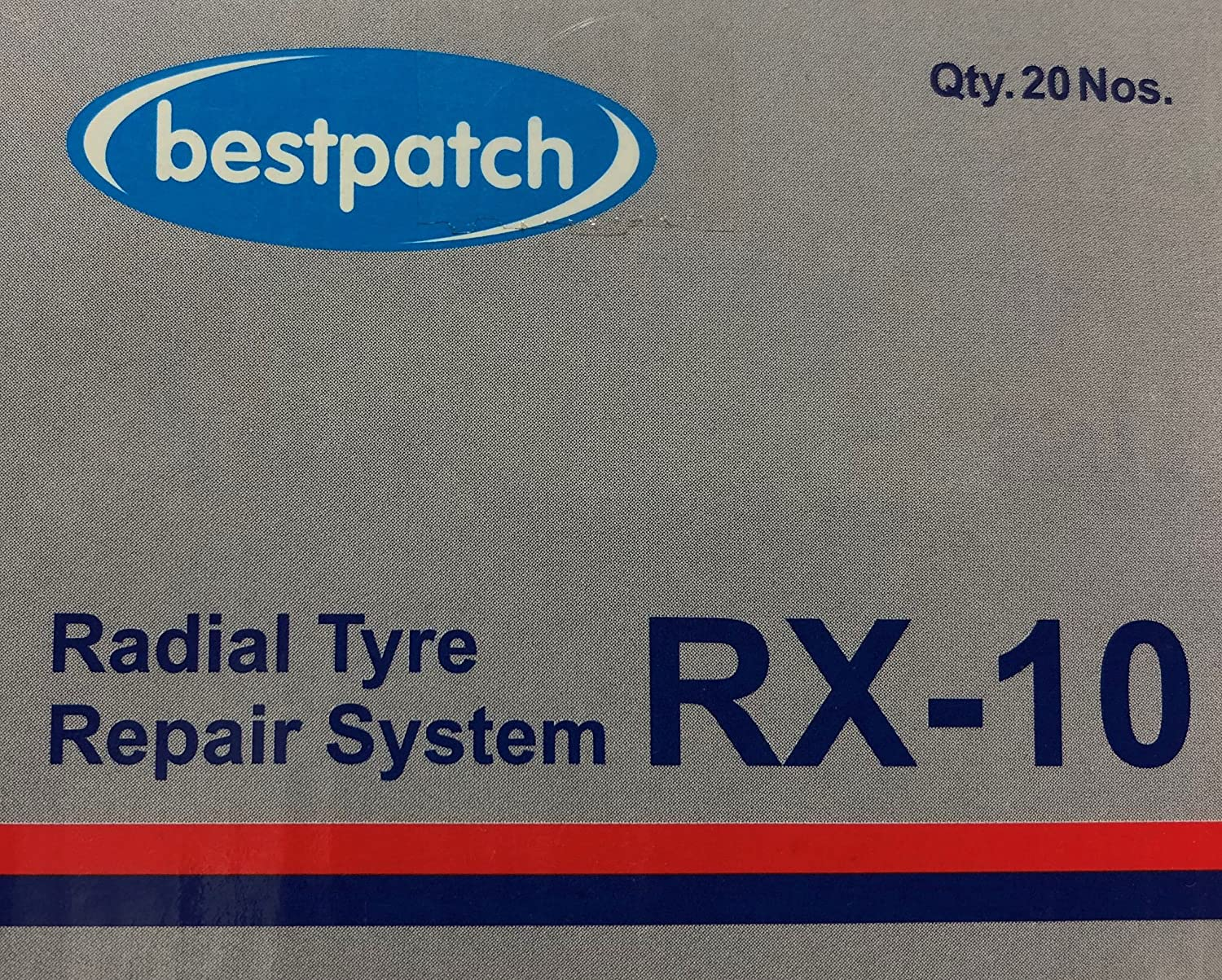 20 Pack Bestpatch RX10 3x2 High Performance Radial Tire Patches