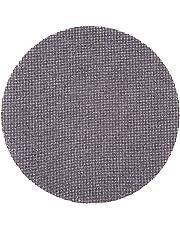Wolfcraft 2287000 2287000-5 Discos Adhesivos de lijar, Tejidos de Rejilla, carburo de silicio, Grano 120, para lijadores de plafones y Pared, 225mm, Set de 5 Piezas