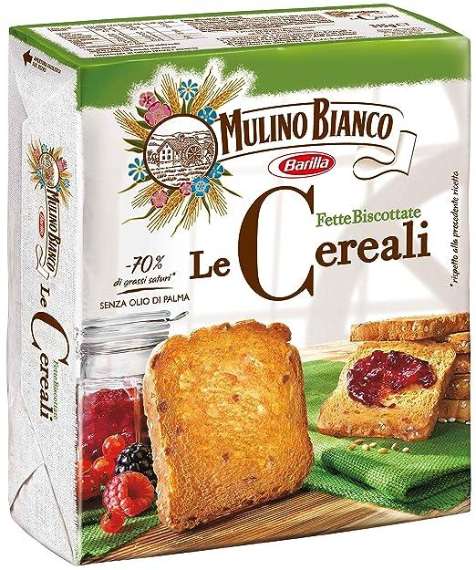 7 opinioni per Mulino Bianco Fette Armonie Cereali Gr.315
