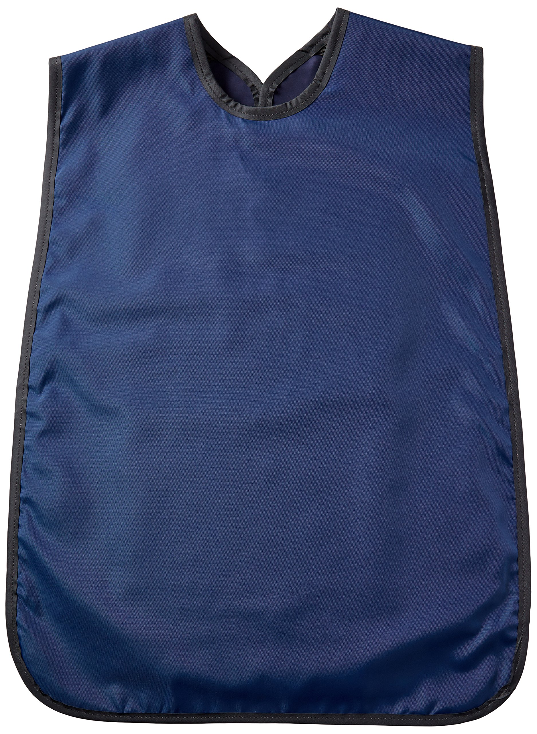 Flow Dental 75061-22 Adult Panoramic Apron, Lead Rubber, 24'' x 27'' Size, Navy Blue