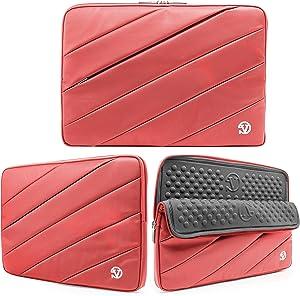 VanGoddy Universal Track Like Design Hybrid Sleeve, Laptop Bag for Toshiba Satellite C55 B5300 15.6 Inch, HP Chromebook 14 New Version, Acer Aspire E 15 ES1 512 C88M