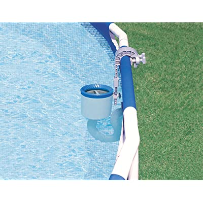 INTEX Deluxe Wall Mount Swimming Pool Surface Skimmer : Intex Krstal Pool Skimmer : Garden & Outdoor