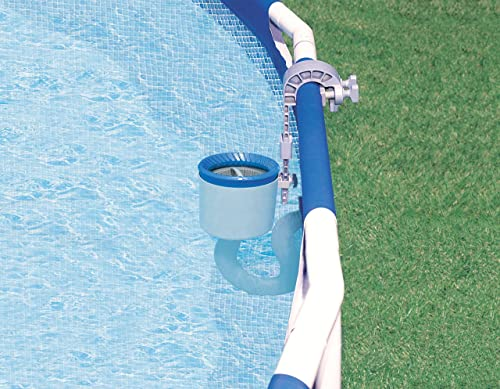Skimmer de superficie para piscina Intex Deluxe de montaje en pared