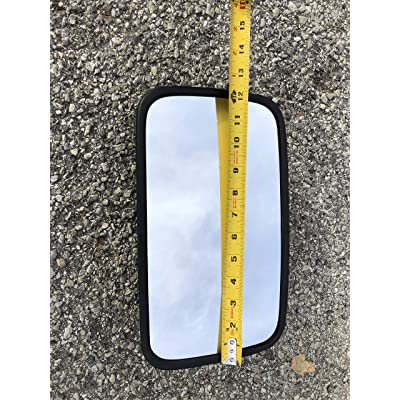 """Replacement 7"""" x 12"""" tractor mirror for lines such as John Deere, Case IH, Challenger, Agco, New Holland, Massery Ferguson, and Versatile by Maverick Advantage: Automotive"""