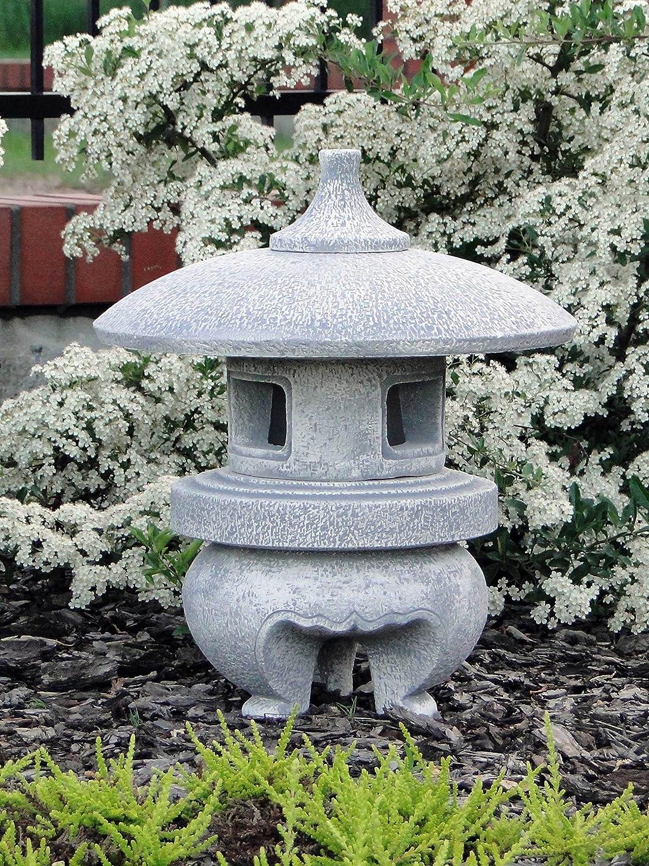 Farol de piedra japonés OKI gata Pagoda de piedra, resistente a las heladas.: Amazon.es: Jardín