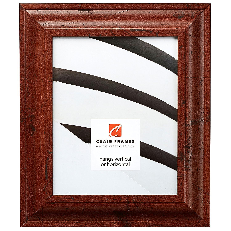 (クレイグフレーム) Craig Frames フォト/ポスターフレーム 滑らか仕上げ 幅2インチ さまざまな色 19 x 25 ブラウン 760041925 B0091IMNZM 19 x 25|Distressed Walnut Distressed Walnut 19 x 25