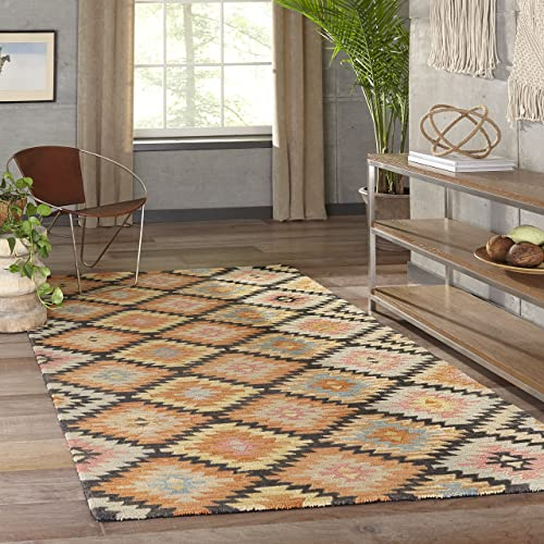 Momeni Rugs Tangier Collection Area Rug, 5 0 x 8 0 , Black