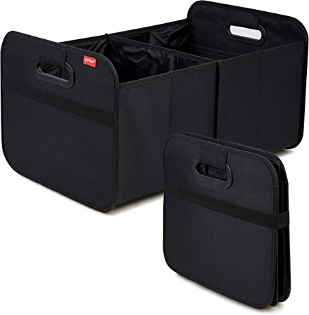 Achilles Auto Faltbox Kofferraum Organizer Faltbare Autotasche Faltkorb Aufbewahrung Taschen Kofferraumtasche Schwarz 50 Cm X 32 Cm X 27 Cm Auto