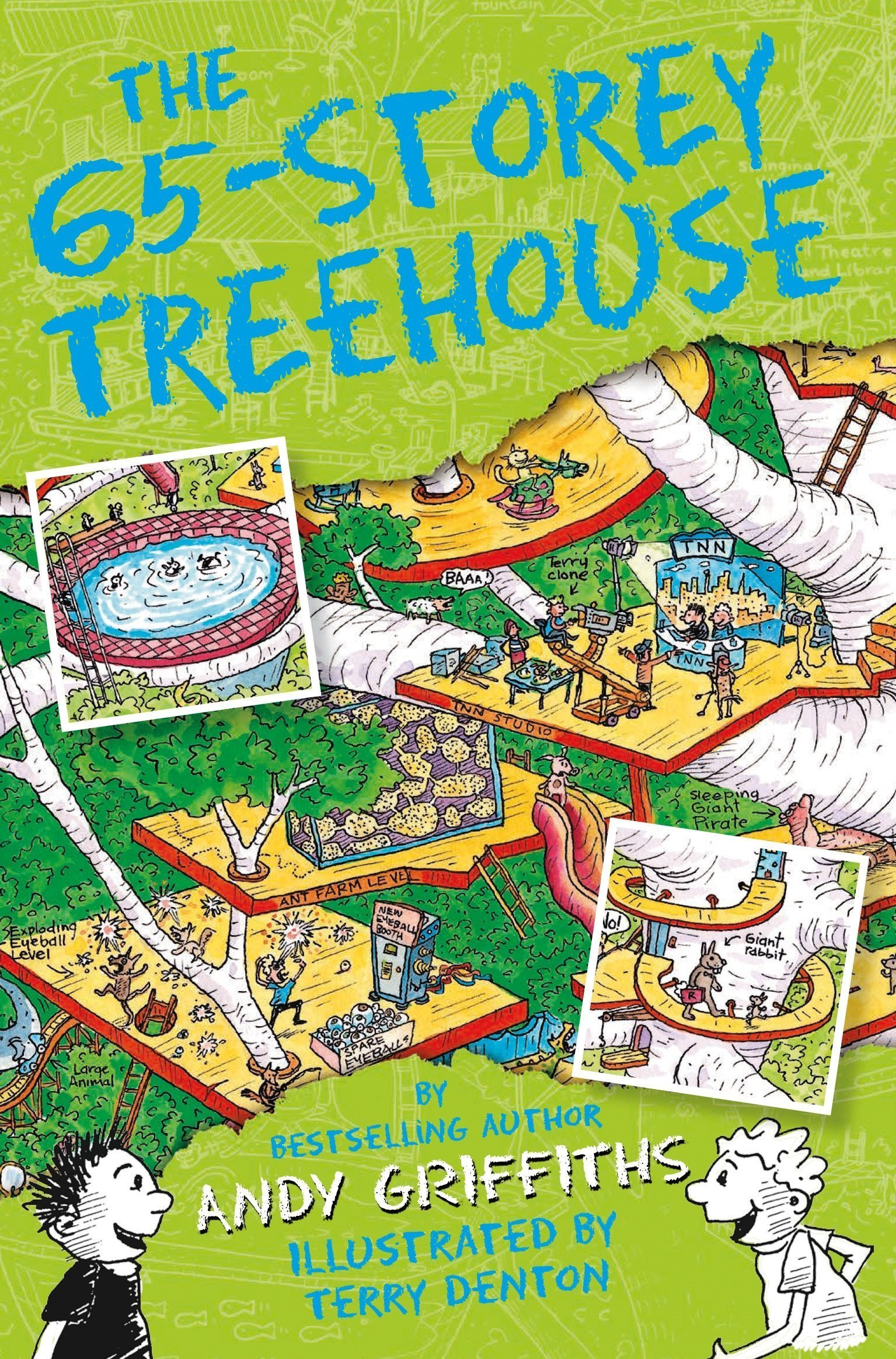 Andy Griffiths Treehouse Part - 39: Treehouse Books Collection Andy Griffiths 5 Books Bundle (The 65-Storey  Treehouse, The 52-Storey Treehouse, The 39-Storey Treehouse, The 13-Storey  Treehouse ...