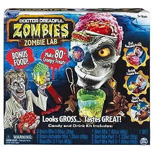 Doctor Dreadful ZOMBIES Zombie Lab BONUS with 80 Creepy Treats