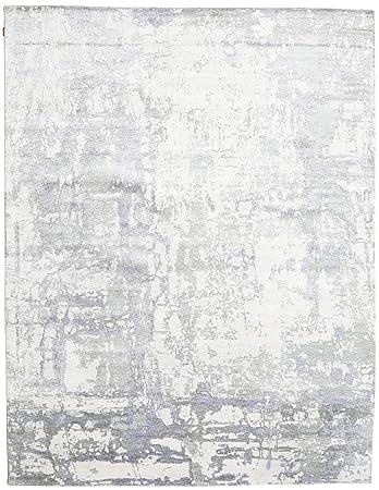 Carpetvista Himalaya Bambus Seide Teppich 276x398 Moderner Teppich
