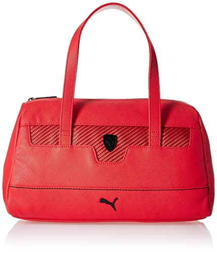 c3cd2fd7be Image Unavailable. Image not available for. Colour: Puma Ferrari LS Women's  Handbag (Rosso Corsa)