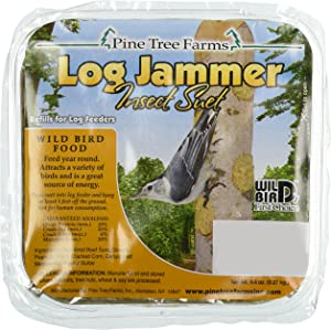 Pine Tree 5004 Log Jammers Insect Suet Plug 9.4 0z
