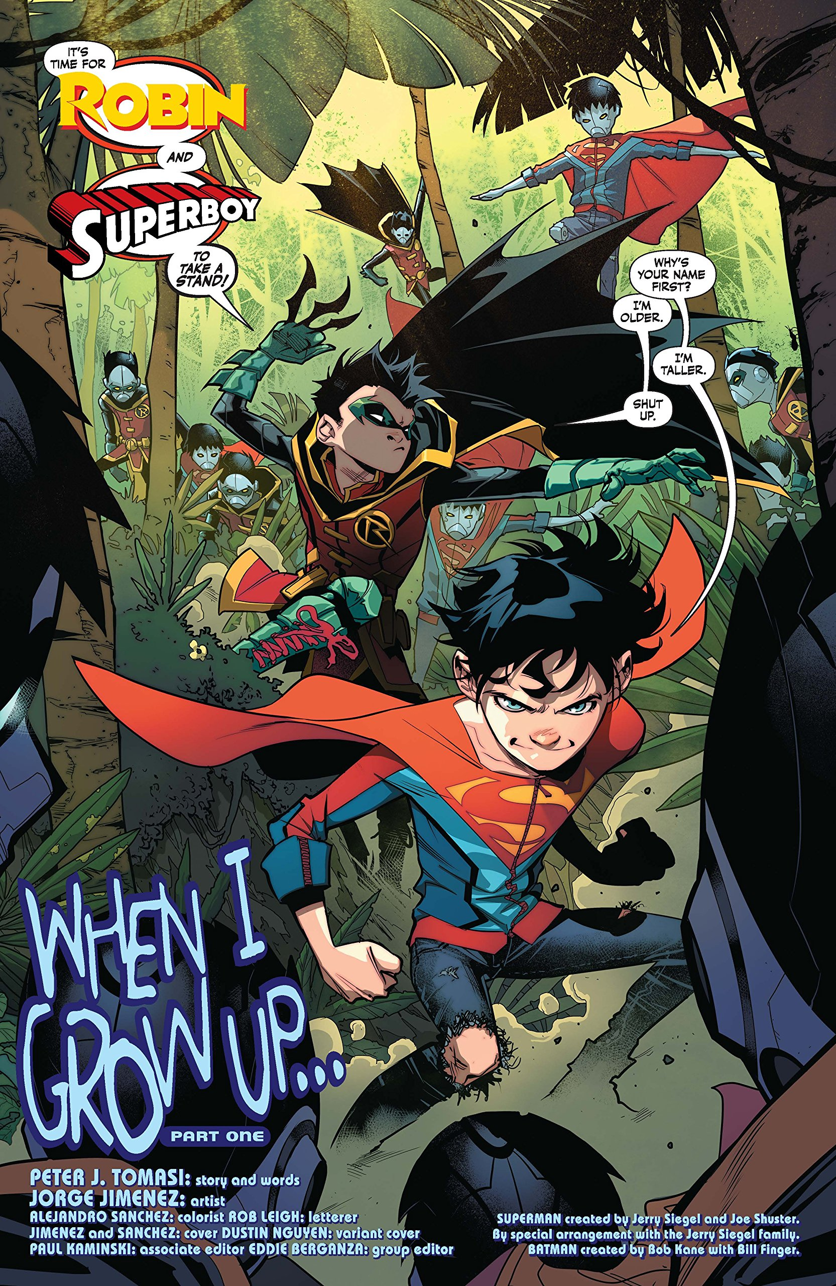 Read Super Sons 1 By Peter J Tomasi