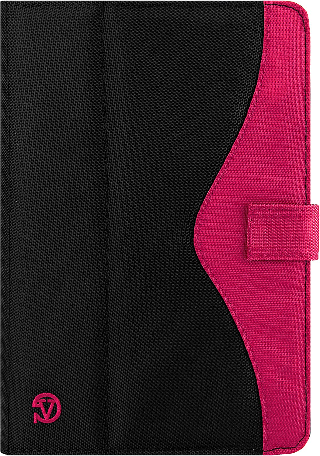 10.1 Inch Universal Tablet Protector Cover Stand Case for Lenovo, Apple, Samsung, Asus, Acer, Magenta