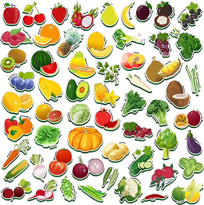 The Best Refrigerator Magnets Fruits And Vegetables