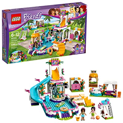 LEGO Friends Heartlake Summer Pool 41313: Toys & Games