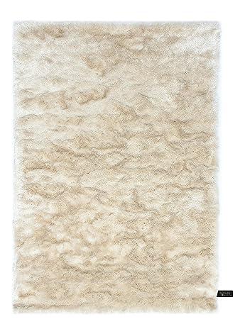 Brandneu benuta Shaggy Hochflor Teppich Whisper Beige 80x150 cm | Langflor  FA76