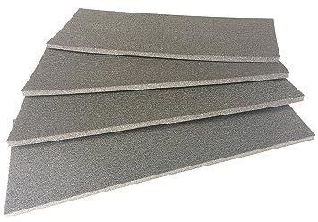 Kantenschutz Für Wände, Garage Und Auto Carport, 4 Er Set Streifen, Farbe  RAL