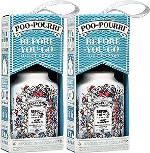 Poo Pourri Merry Shpirtzmas Before You Go Spray 2 oz - 2 Pack