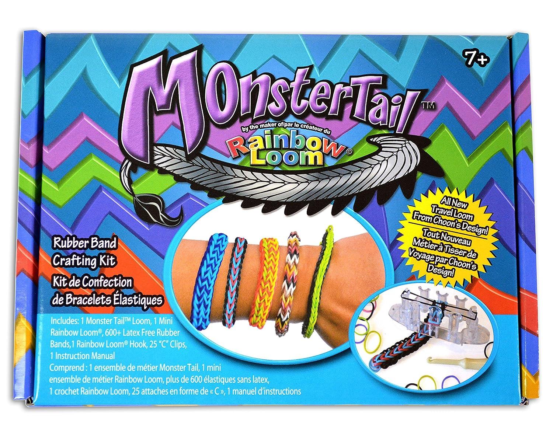 amazon com monster tail mini loom bracelet toy toys games rh amazon com Parts of a Loom Weaving Loom Parts