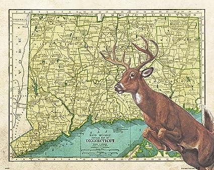 Deer Creek Hunting Map on