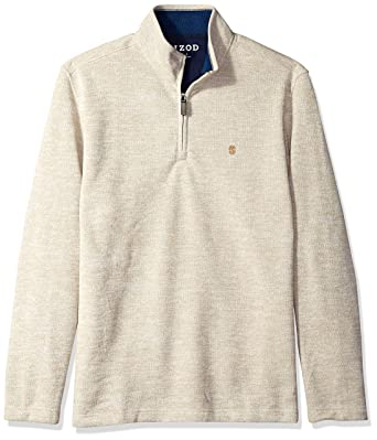 c55a4d676764 IZOD Men s Long Sleeve 1 4 Zip Sweater Fleece Soft Pullover