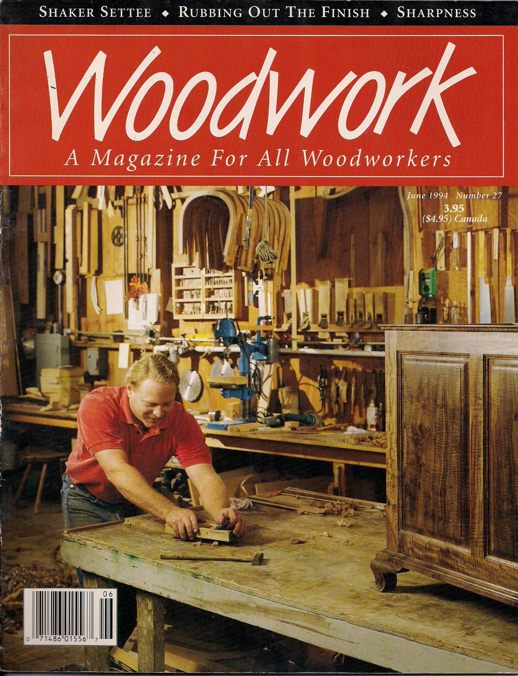 Woodwork A Magazine For All Woodworkers June 1994 Number 27